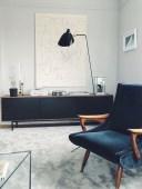 52+ Amazing Mid Century Living Room Decor Ideas 55