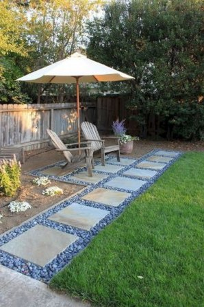 63+ Best Small Backyard Landscaping Ideas 47