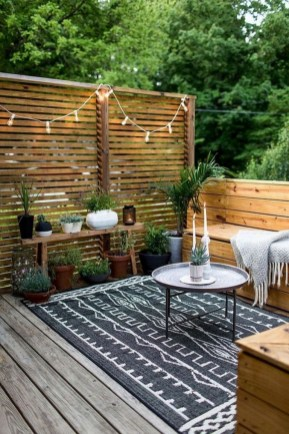 Amazing 9+ Backyard Privacy Fence Landscaping Ideas On A Budget 11