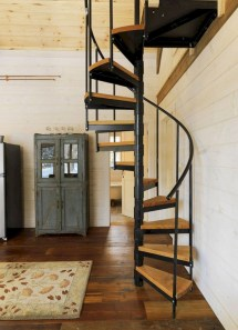 17+ Cool Stairs Design Ideas For Small Space (10)