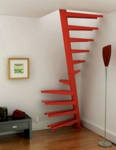 17+ Cool Stairs Design Ideas For Small Space (7)
