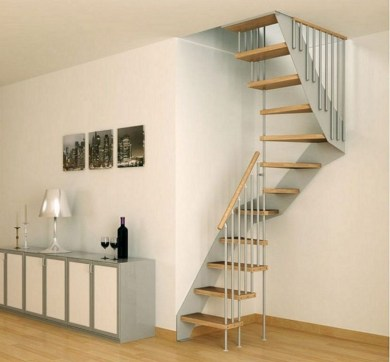 20+ Cool Stairs Design Ideas For Small Space (8)