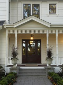 25+ Awesome Farmhouse Exterior Front Door Ideas (7)