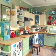 36+ Stunning Design Vintage Kitchens Ideas Remodel (24)