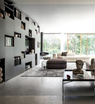 43+ Comfy Apartment Living Room Designs Ideas Trends 2018 (29)