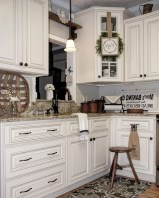 50+ Amazing Modern Farmhouse Kitchen Cabinets Decor Ideas 22