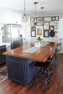 50+ Amazing Modern Farmhouse Kitchen Cabinets Decor Ideas 45