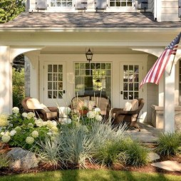 58+ Beautiful Low Maintenance Front Yard Landscaping Ideas (27)