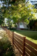 63+ Inspiring DIY Front Yard Privacy Fence Remodel Ideas (34)