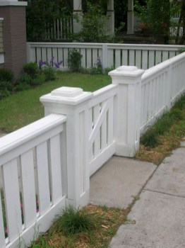 63+ Inspiring DIY Front Yard Privacy Fence Remodel Ideas (64)