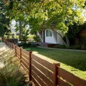 63+ Inspiring DIY Front Yard Privacy Fence Remodel Ideas (7)