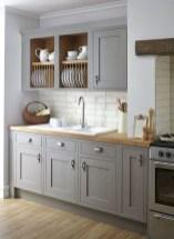 70+ Amazing Farmhouse Gray Kitchen Cabinet Design Ideas 01