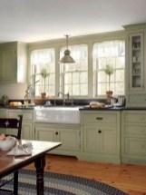 70+ Amazing Farmhouse Gray Kitchen Cabinet Design Ideas 03