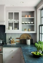 70+ Amazing Farmhouse Gray Kitchen Cabinet Design Ideas 09