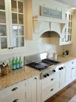 70+ Amazing Farmhouse Gray Kitchen Cabinet Design Ideas 21