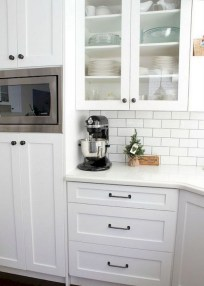 75+ Rustic Farmhouse Style Kitchen Makeover Ideas 28