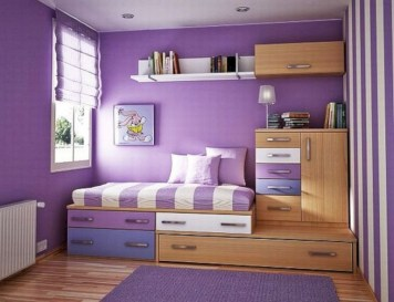 30+ Awesome Decorating Tips to Style Perfect Bedroom for Teen (22)