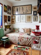 30+ Stunning Bohemian Bedroom Decor For Small Space (25)