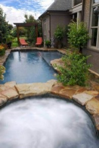 33+ Wonderful Small Backyard Ideas With Swimming Pool Design (4)