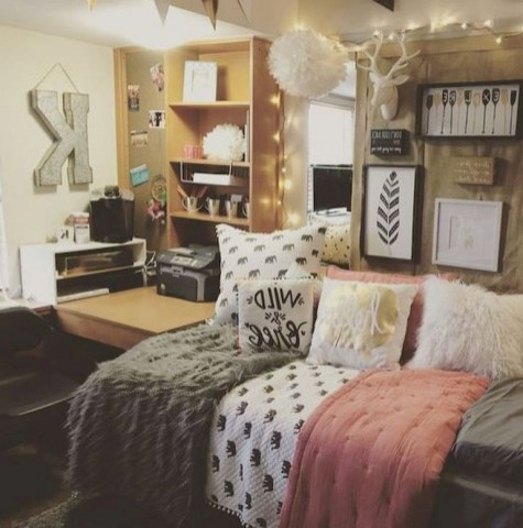 48+ Beautiful and Comfy College Apartment Ideas on A Budget (14)