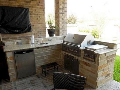 48+ Marvelous Outdoor Kitchen Ideas (23)