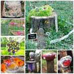 53+ Beautiful DIY Outdoor Garden Crafts Ideas to Make Your Garden More Beautiful (11)