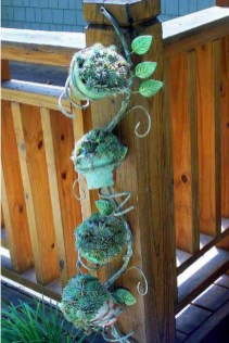 53+ Beautiful DIY Outdoor Garden Crafts Ideas to Make Your Garden More Beautiful (34)