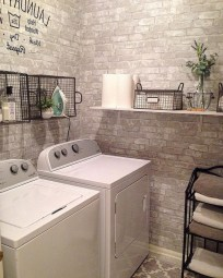 55+ Inspiring Simple and Awesome Laundry Room Ideas (19)