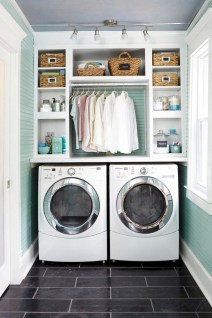 55+ Inspiring Simple and Awesome Laundry Room Ideas (33)