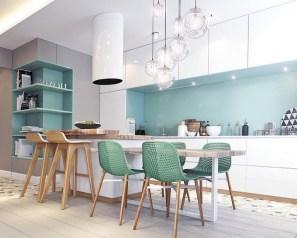 56+ Amazing Modern Kitchen Design Ideas And Remodel (45)