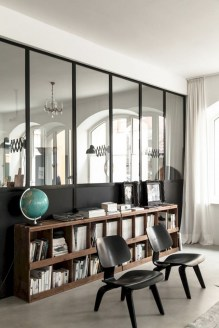 56+ Stunning Moody Mid Century Home Office Decor Ideas (18)