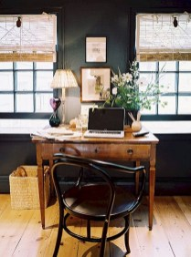 56+ Stunning Moody Mid Century Home Office Decor Ideas (32)