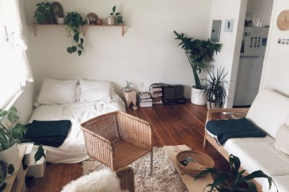 78+ Cool First Apartment Decorating Ideas on A Budget (52)