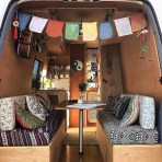 82+ Inspiring RV Camper Van Interior Design and Organization Ideas (35)