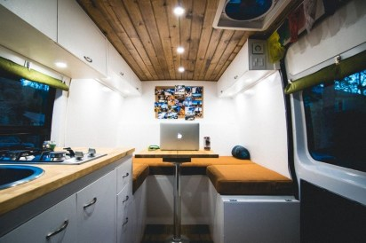 82+ Inspiring RV Camper Van Interior Design and Organization Ideas (50)