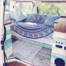 82+ Inspiring RV Camper Van Interior Design and Organization Ideas (56)