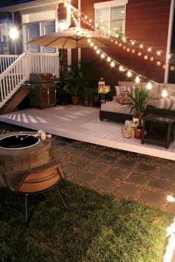 28+ Awesome Party Alcove Party Lights Tips for Outdoor Decor Ideas (29)