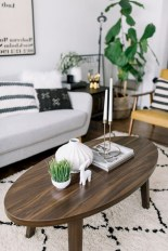 30+ Creative Tips For A Perfect Coffee Table Styling To Living Room (17)