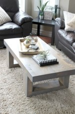 30+ Creative Tips For A Perfect Coffee Table Styling To Living Room (29)
