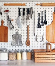 40+ Brilliant Ways To Organize Your Home With Pegboards (13)