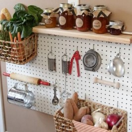 40+ Brilliant Ways To Organize Your Home With Pegboards (15)