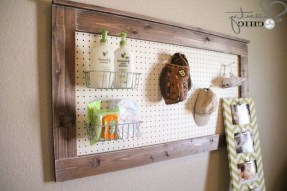 40+ Brilliant Ways To Organize Your Home With Pegboards (33)