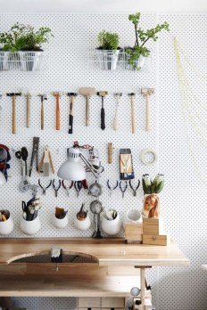 40+ Brilliant Ways To Organize Your Home With Pegboards (9)