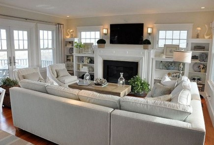 42+ Marvelous Informal Living Room Design Ideas As You Want (39)