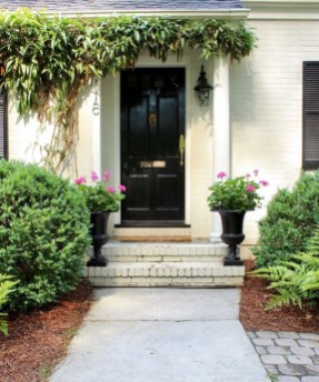 46+ Beauty Chic and Simple Entrance Ideas for Your House (37)