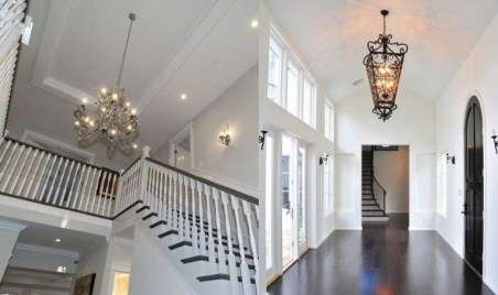 46+ Beauty Chic and Simple Entrance Ideas for Your House (38)