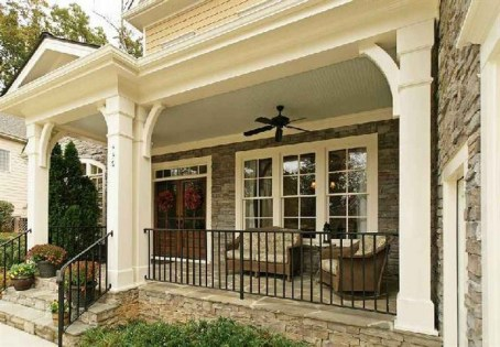 29+ BEAUTIFUL FRONT PORCH DECORATING IDEAS 23