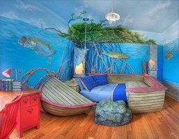 36+ Sweet Mermaid Themes Bedroom Ideas For Your Children (14)