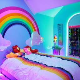 36+ Sweet Mermaid Themes Bedroom Ideas For Your Children (16)