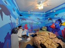 36+ Sweet Mermaid Themes Bedroom Ideas For Your Children (29)
